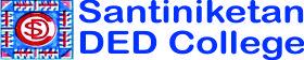 Santiniketan Ded College Logo